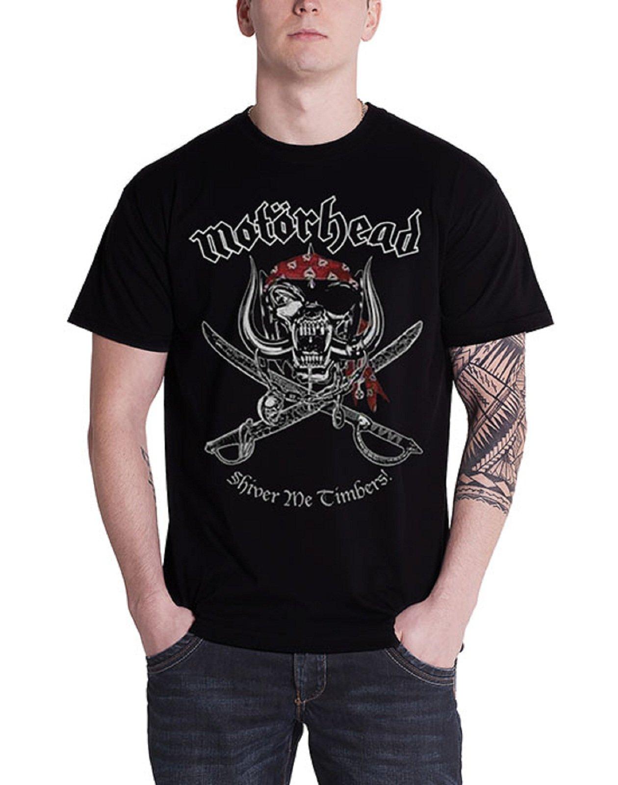 Motorhead T Shirt Shiver Me Timbers Pirate Band Logo S 1869