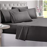 Queen Sheets Bed Sheets Queen Size - Sheets Queen Size Sheets Queen Bed Sheets Queen Sheet Set Queen Size 6 Piece Deep…