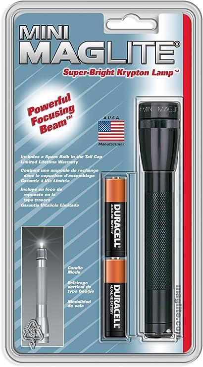 Maglite M2A016 Flashlight Mag Lite Flash Light Mini