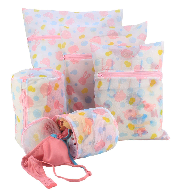 HOKIPO® Mesh Laundry Clothes Washing Bag, Pack of 5 (B0767HYNGD) Amazon Price History, Amazon Price Tracker