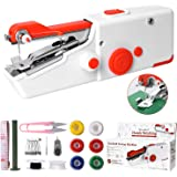 Handheld Sewing Machine, Mini Portable Electric Sewing Machine for Beginners Adult, Easy to Use and Fast Stitch Suitable for