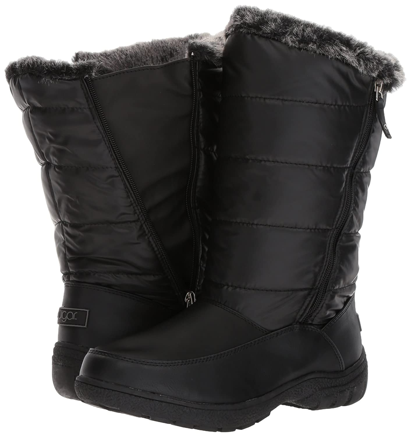 70cc65961f ... Sugar Women s Lucille Lucille Lucille Tall Shaft Faux Fur Waterproof  Snow Winter Weather Boot B076BYB66V 9 ...