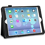 iPad Air Case, TeckNet® iPad Air PU Leather Case, iPad 5 (Released November 2013) Smart Cover With Flip Stand & Lifetime Guarantee + Included 1 Screen Protector and Stylus Pen For Apple iPad Air 1th Generation - Lifetime Warranty