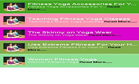 Amazon.com: Fitenss Yoga as exercise: Appstore for Android