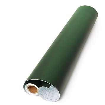 Office Tree Lámina de pizarra® Verde 300 cm Rollo – Autoadhesivo – 43 cm de ancho – Pizarra adhesiva – Escritura dibujar pintar Akzente setzen con ...