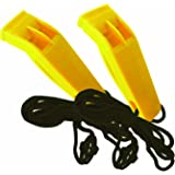 UST Marine Hear Me Whistle (2-Pack), Yellow