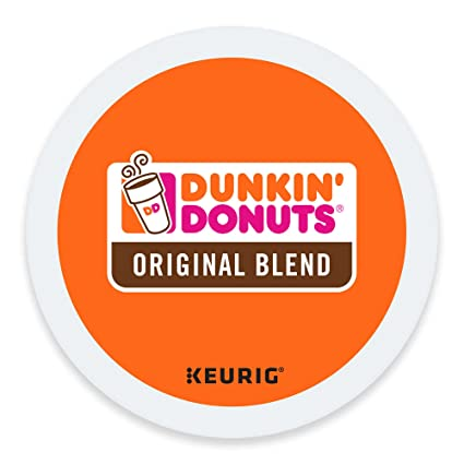 Amazoncom Dunkin Donuts Original Blend Pods KCup Pods 72 Count