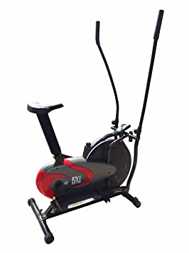 Olympic ES-9200 2-in-1 - Elíptica de fitness, color negro