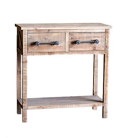 kitchen console table large paris loft rustic solid wood kitchen console table farmhouse end table side vintage sofa amazoncom