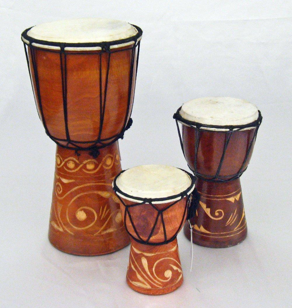 Rustic Djembe Tribal Drum - 12''