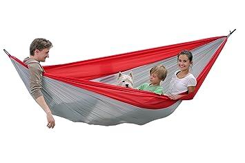 traveller double hammock xxl lightweight hammock parachute hammock by byer of maine amazon    traveller double hammock xxl lightweight hammock      rh   amazon