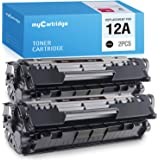 Q2612A Compatible Toner Cartridge Replacement for HP Laserjet 1020 1022 1022n 1022nw 1010 1012 1015 1018 Printer,Sold by SinaToner. 6-Pack Black 12A