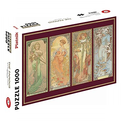 Piatnik of America Klimt Virgin 1000 Piece Jigsaw Puzzle: Toys & Games