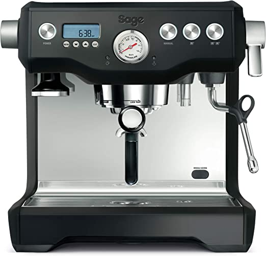 Sage Appliances SES920 - Cafetera espresso, color negro: Amazon.es ...