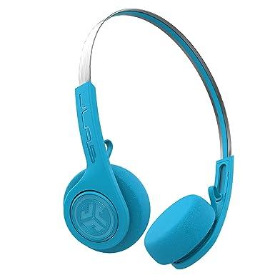 JLab Audio Rewind - Auriculares inalámbricos retro con Bluetooth 4.2, 12 horas de reproducción,