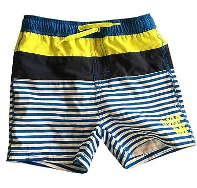 1ff933d9c8 Infant Baby Boys Striped Trunks Beach Swim Bottoms Surf Short:  Amazon.co.uk: Clothing
