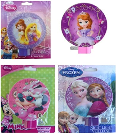 Amazon.com: Disney Princess – Luz nocturna Deluxe Pack con ...
