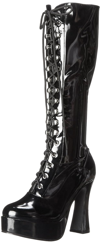 Ellie Shoes Women's 557-Gina Boot B000AUJ1RS 13 B(M) US|Black Patent