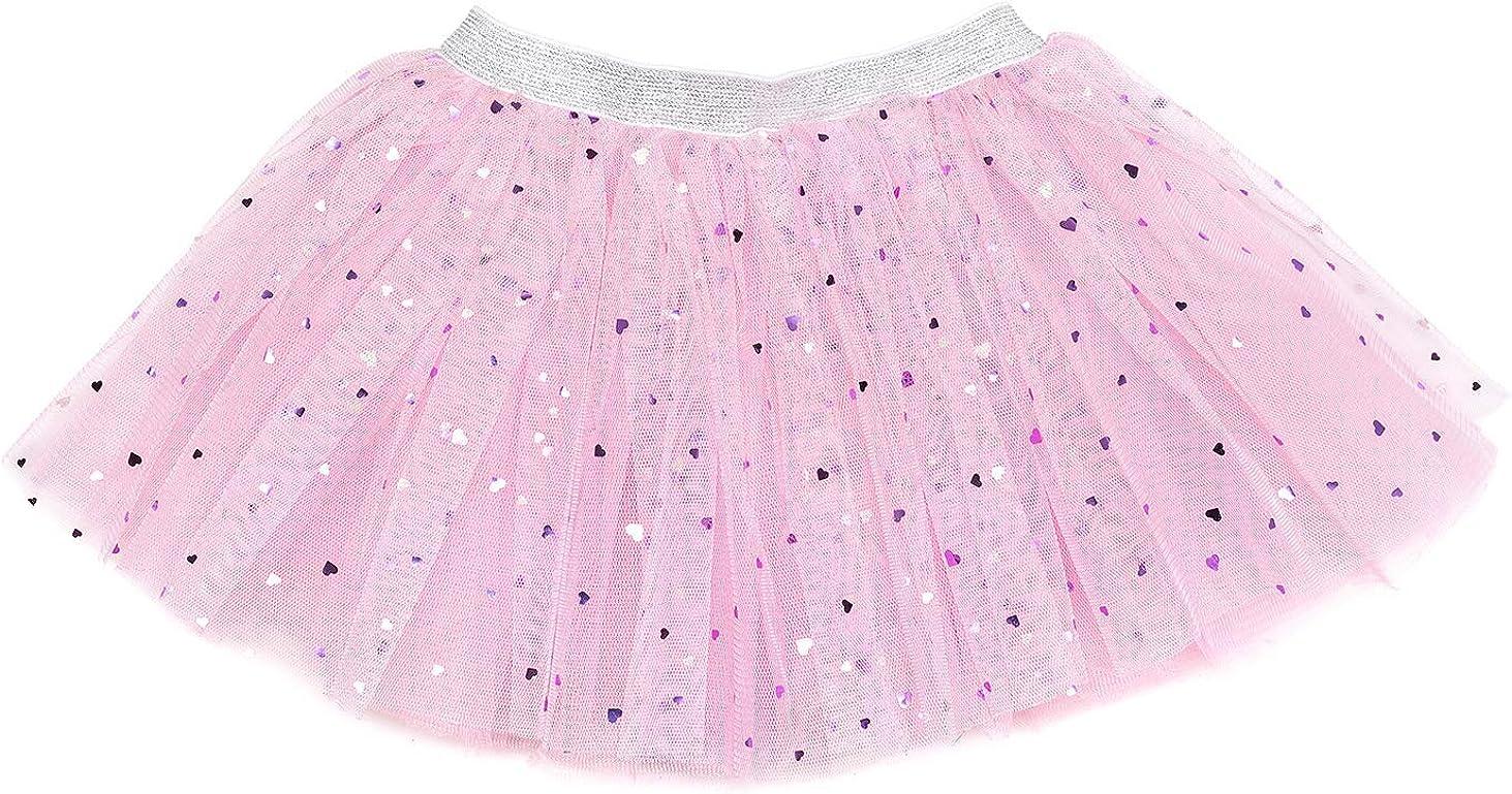 Sweet Wink Shimmer Sweetheart Pink Sparkle Tutu Skirt