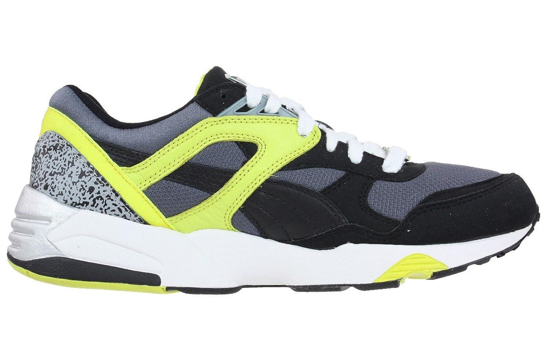 Puma Trinomic R698 Sneaker Schuhe 357837 04 schwarz / gelb: Amazon.de:  Schuhe & Handtaschen