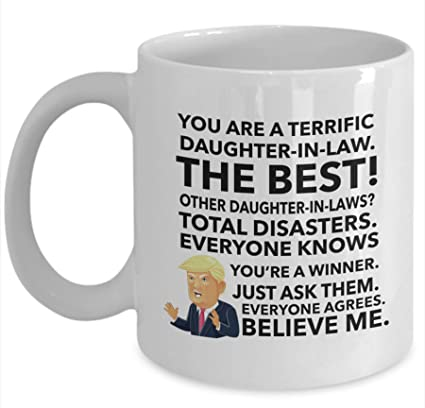 Trump Mug For Daughter In Law Christmas Gift
