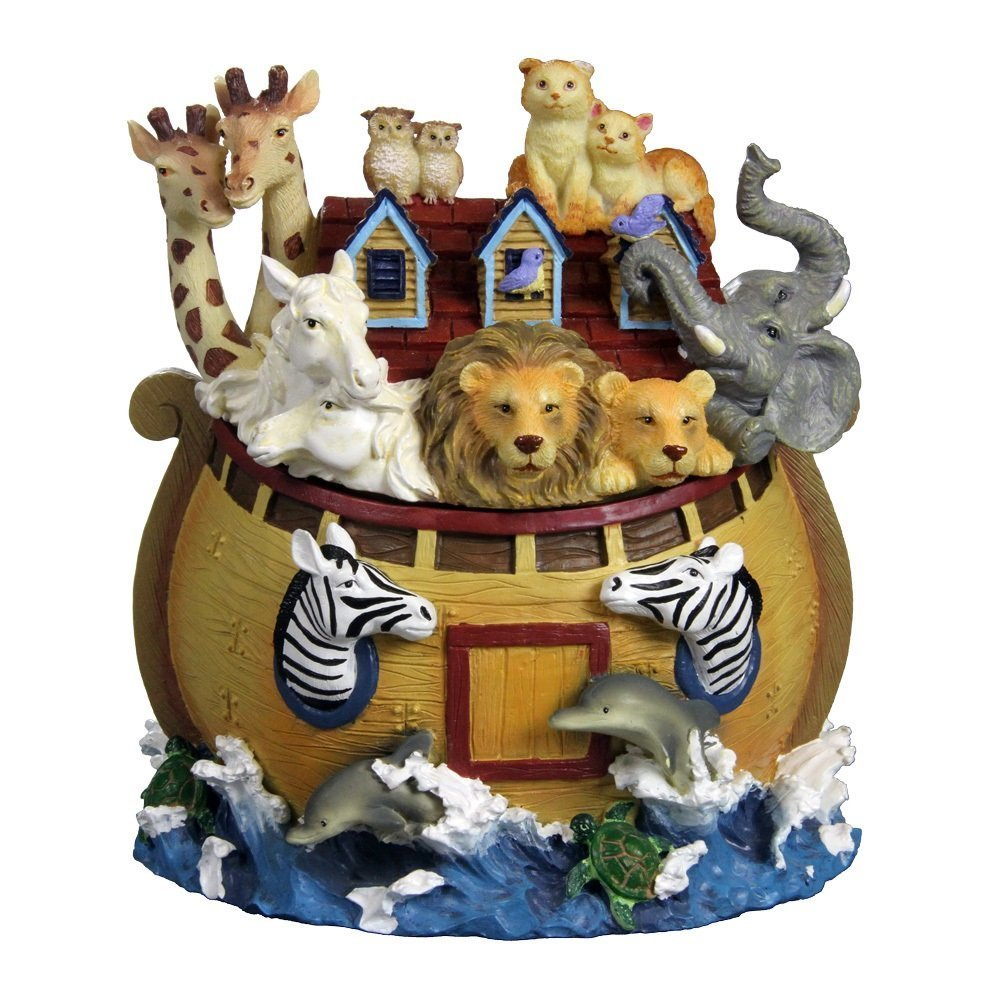 爆売り! Noah`s Ark Collectible Figurine from The San Figurine Francisco Color Music Size Box Company (並行輸入品) B07DQFNTXQ One Color One Size, 岩槻市:6bc09f87 --- arcego.dominiotemporario.com