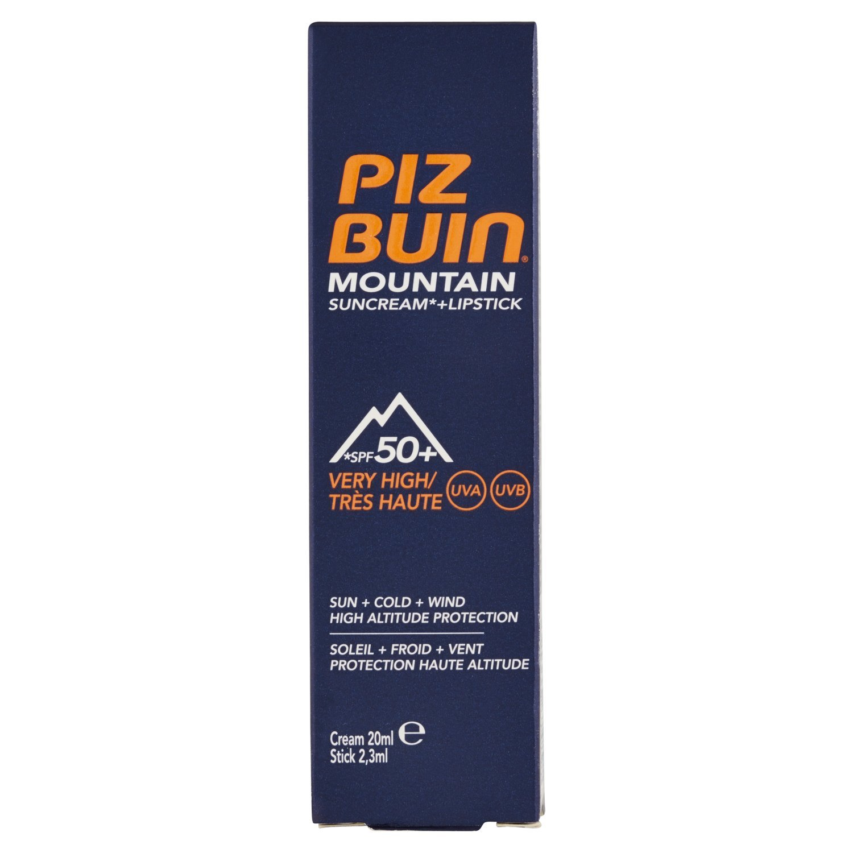 Piz Buin Mountain Cream + Stick Spf50+ 20Ml 85579