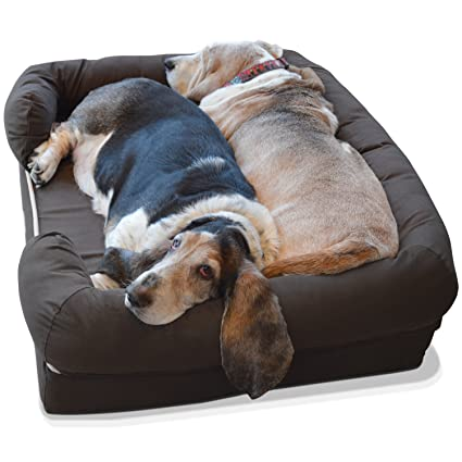 PetFusion Ultimate Pet Bed with Solid Memory Foam