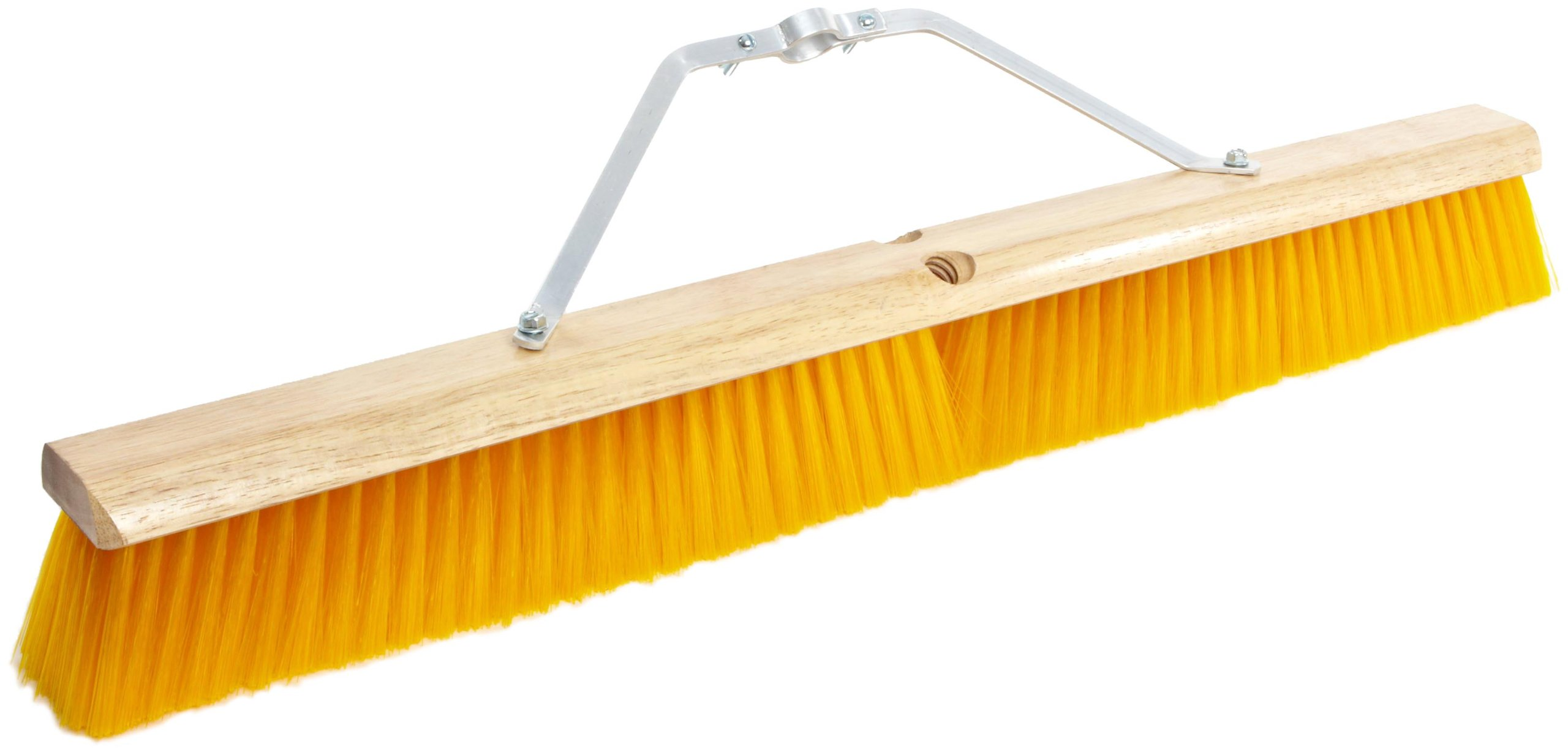 No. 19 Line Floor Brushes - 30'' floor brush w/m60 2d04b1d yellow plas
