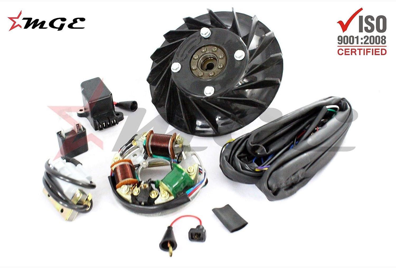 Vespa Vbb Vba Super Vbc Vnb 12 Volt Electronic 6 Conversion Kit Wiring Diagram K047 Car Motorbike