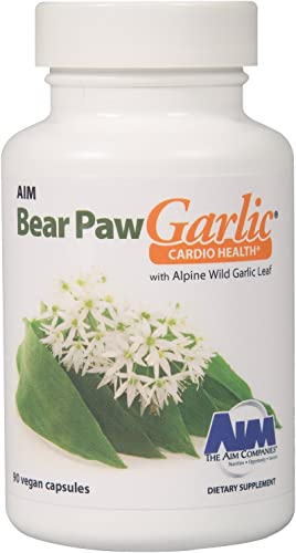 AIM Bear Paw Garlic for a unique garlic supplement