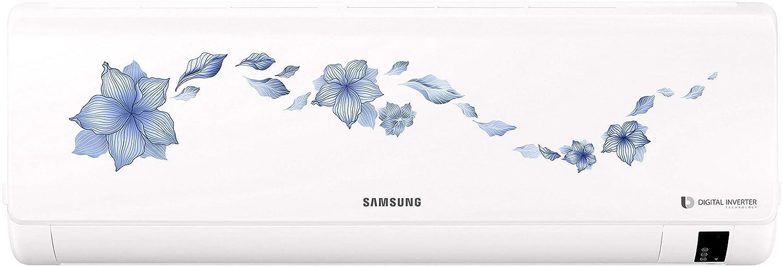 Samsung 1.5 Ton 3 Star Inverter Split AC (Alloy, AR18NV3HLTR, Star Flower White)