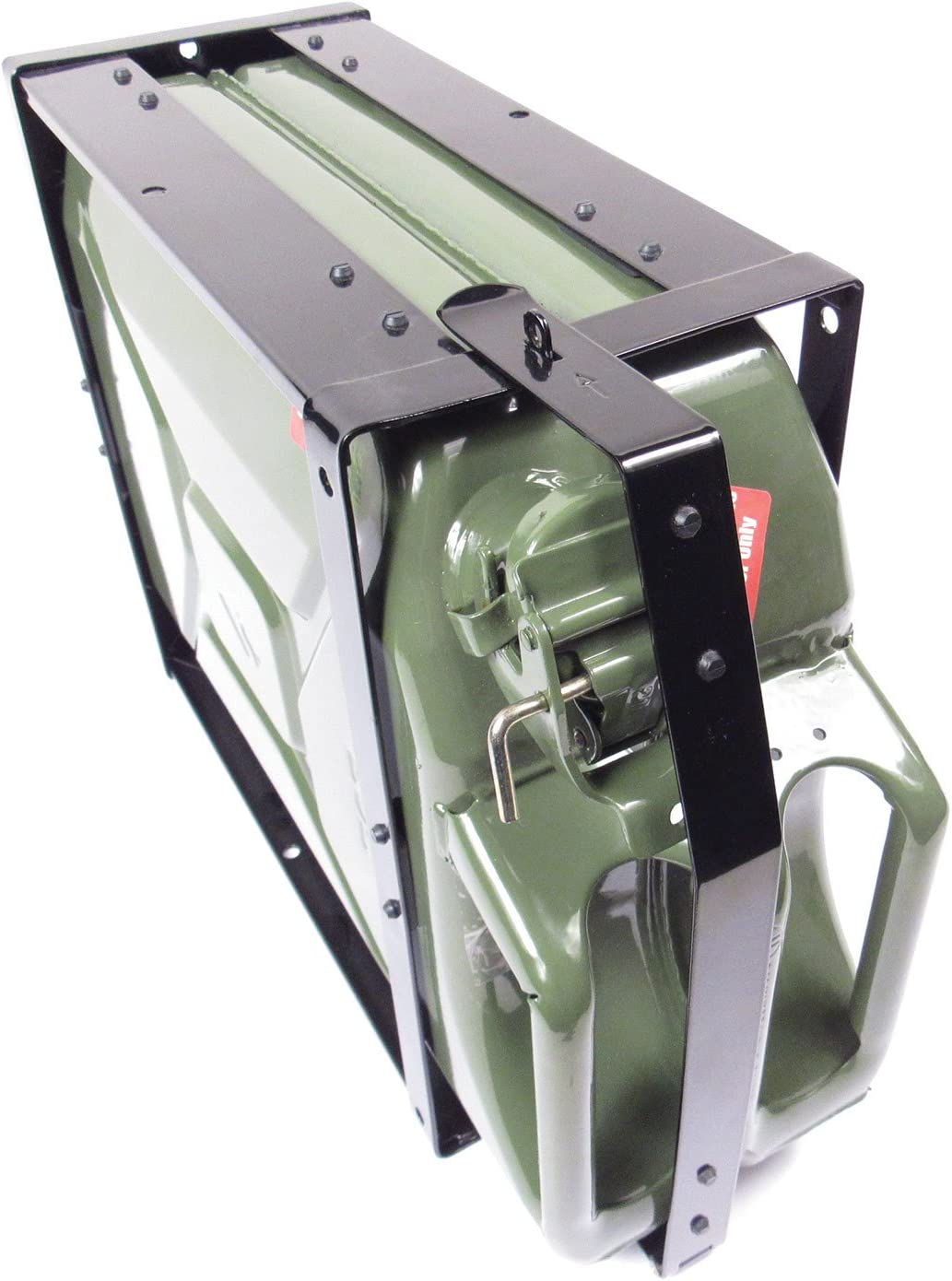 NATO Style Steel Jerry Can Holder for 20 Liter 5 Gal. Cans