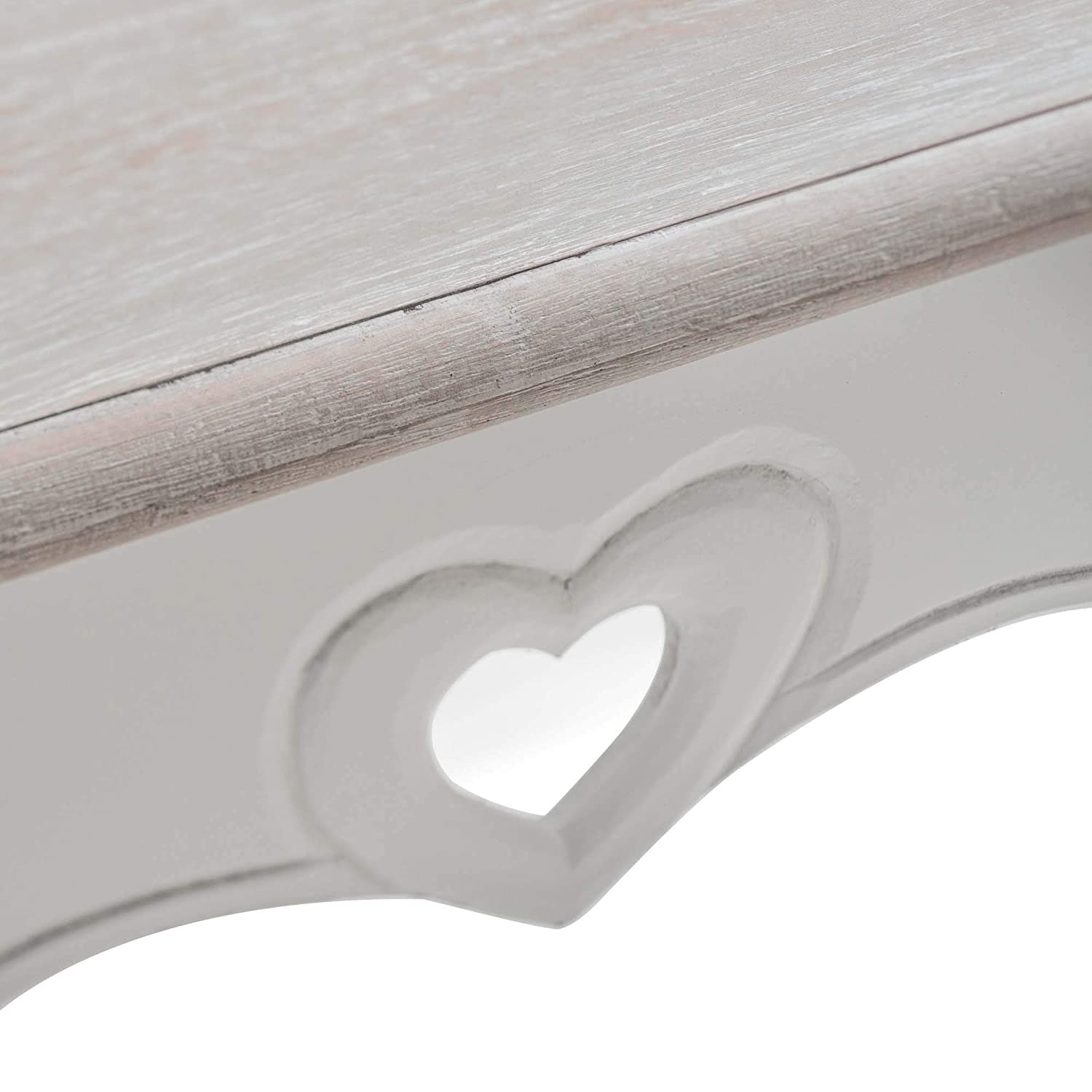 Vermont Shabby Chic French Style Coffee Table In Distressed White Maine Furniture Co Coffee Tables