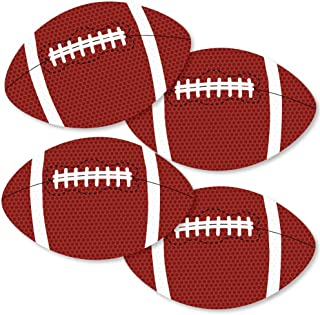 product image for End Zone - Football - Decorations DIY Baby Shower or Birthday Party Essentials - Set of 20