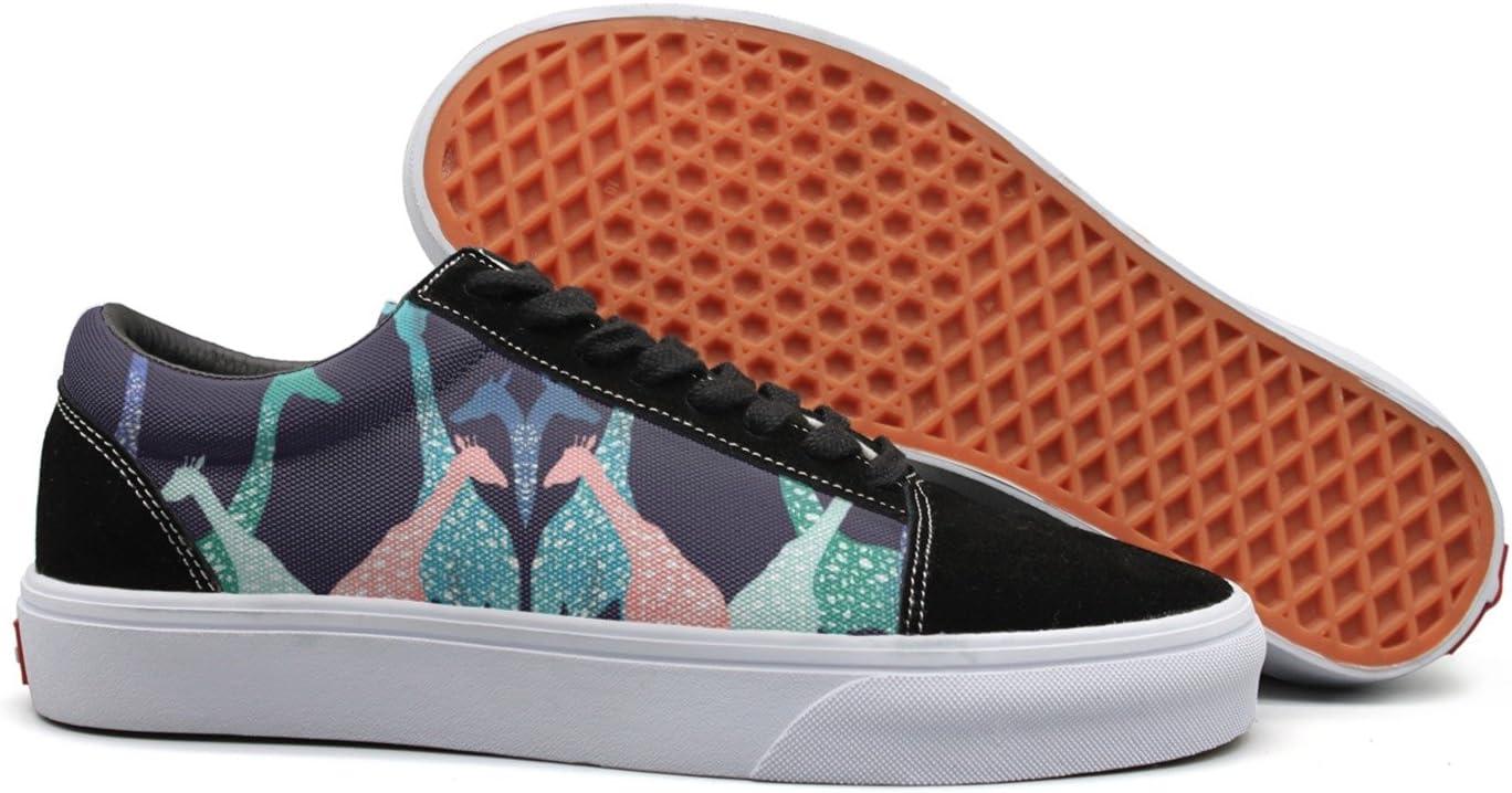 seventtynine Giraffe Party Time Women Casual Sneaker Lace Up Shoe