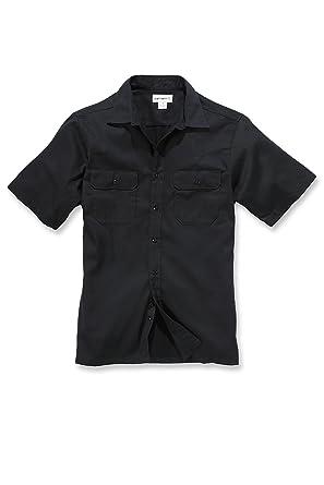 Carhartt - Camiseta - para Hombre Negro Large: Amazon.es: Ropa y ...