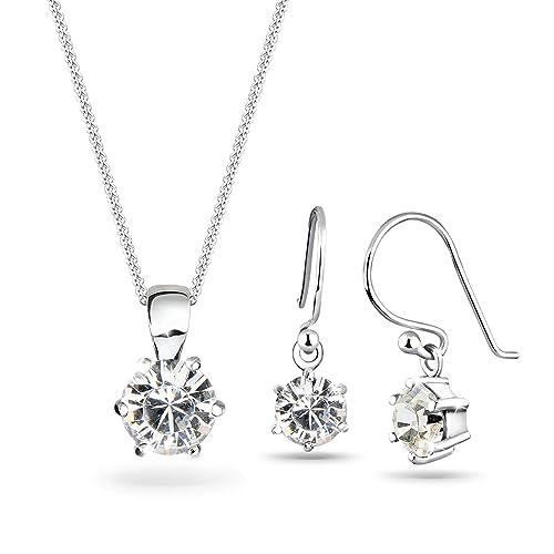 2b2c9169738b Elli Classic - Juego de joyas de plata  Amazon.es  Joyería