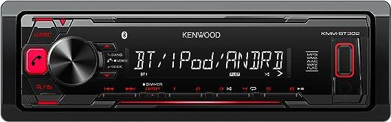 Kenwood Kmm Bt302 Digital Media Receiver Mit Bluetooth Elektronik