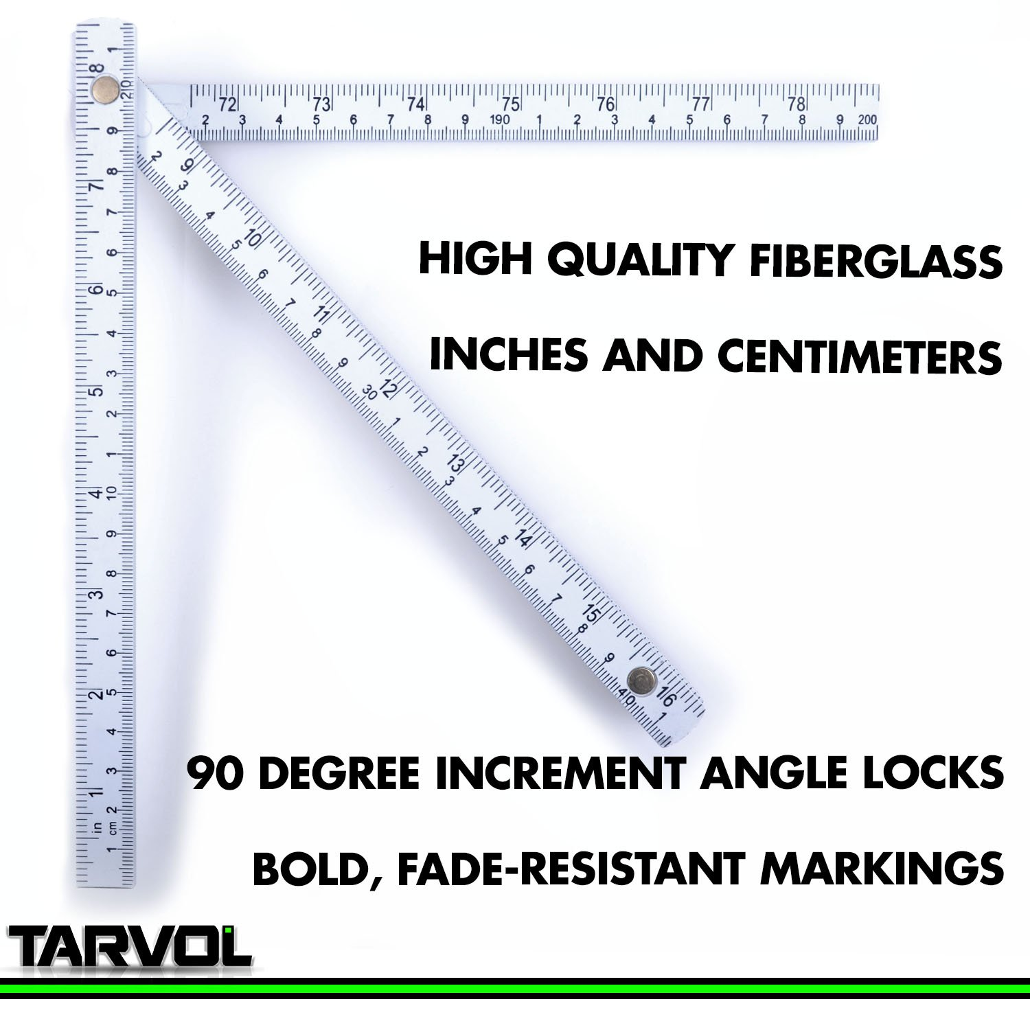 Folding carpenters ruler 65 foot foldable design lightweight folding carpenters ruler 65 foot foldable design lightweight and compact measuring stick in inches in centimeter cm slide fold up design buycottarizona Image collections