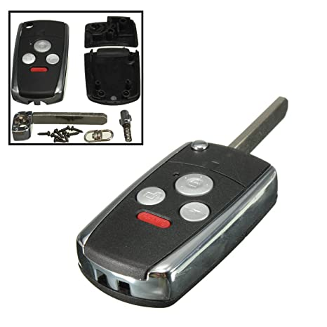 HITSAN - Carcasa para llave de Honda, Accord, 3 botones, 1 ...