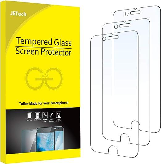 iPhone 6s Protection écran, JETech® 3-Pack Film Protection en Verre trempé écran protecteur ultra résistant Glass Screen Protector pour Apple iPhone 6 ...