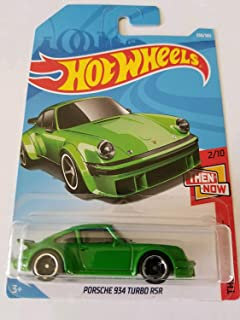 Hot Wheels 2018 Then And Now 2/10 - Porsche 934 Turbo RSR (Green