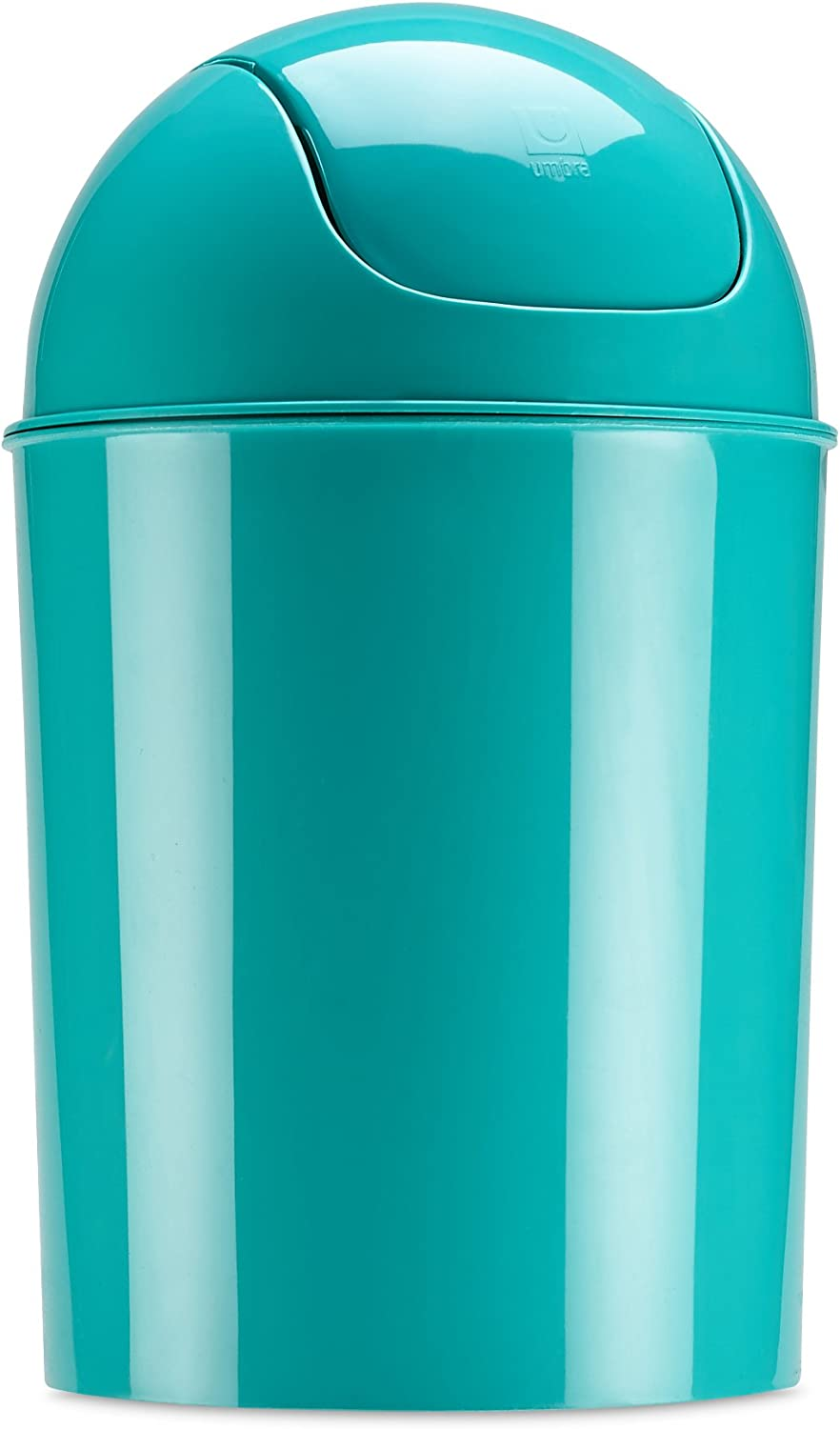 Umbra Mini Waste Can 5L with Swing Lid, Surf Blue