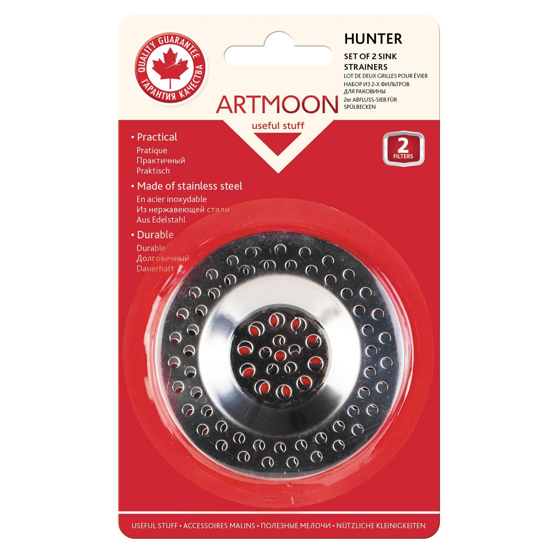 ArtMoon Hunter Abflusssieb Badewanne Abfallfilter F/ür Sp/ülbecken Set 2 St