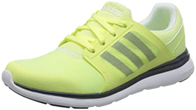 online store a5e30 3923e adidas Womens Cloudfoam Xpression W Fitness Shoes, YellowBlackWhite  (Amahel
