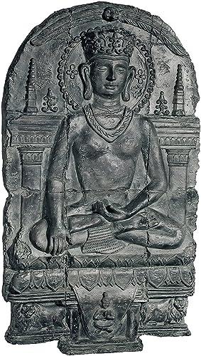 Design Toscano Earth Witness Buddha Sculptural Wall Frieze