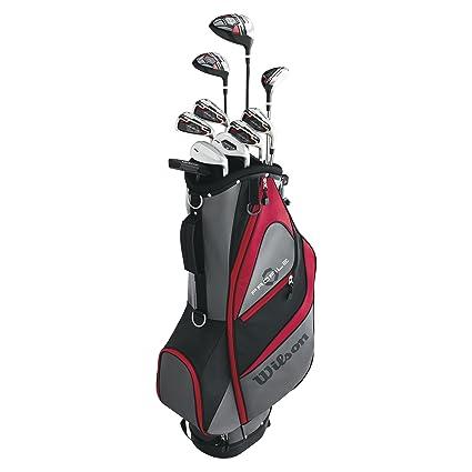 9dbc8f13c0af Amazon.com   Wilson Men s Profile XD Golf Complete Set Long Men s ...