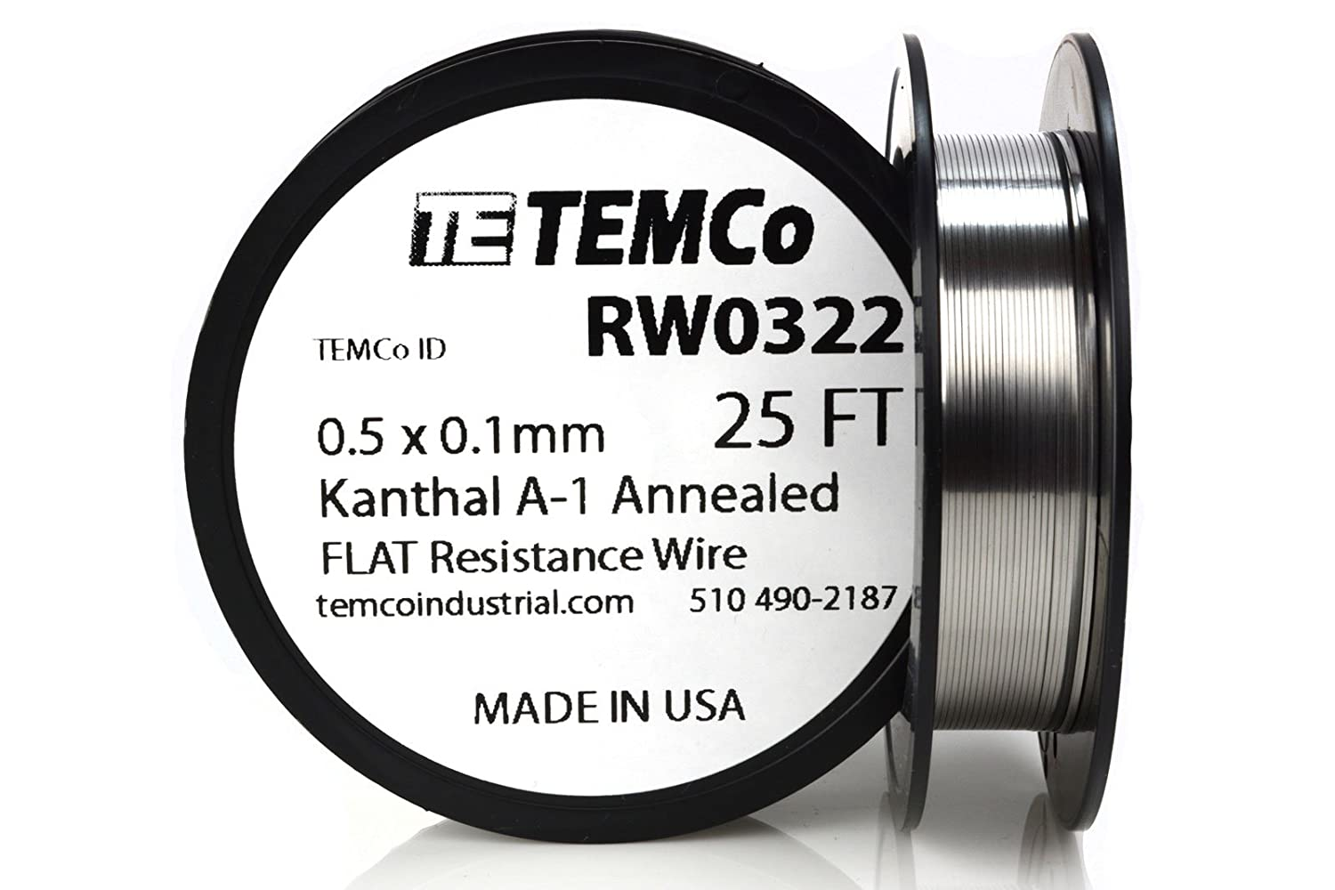 Flat wire vape benefits wire center temco flat ribbon kanthal a1 wire 0 5mm x 0 1mm 500 ft resistance a rh amazon com flat vape mod flat vape mod greentooth Image collections