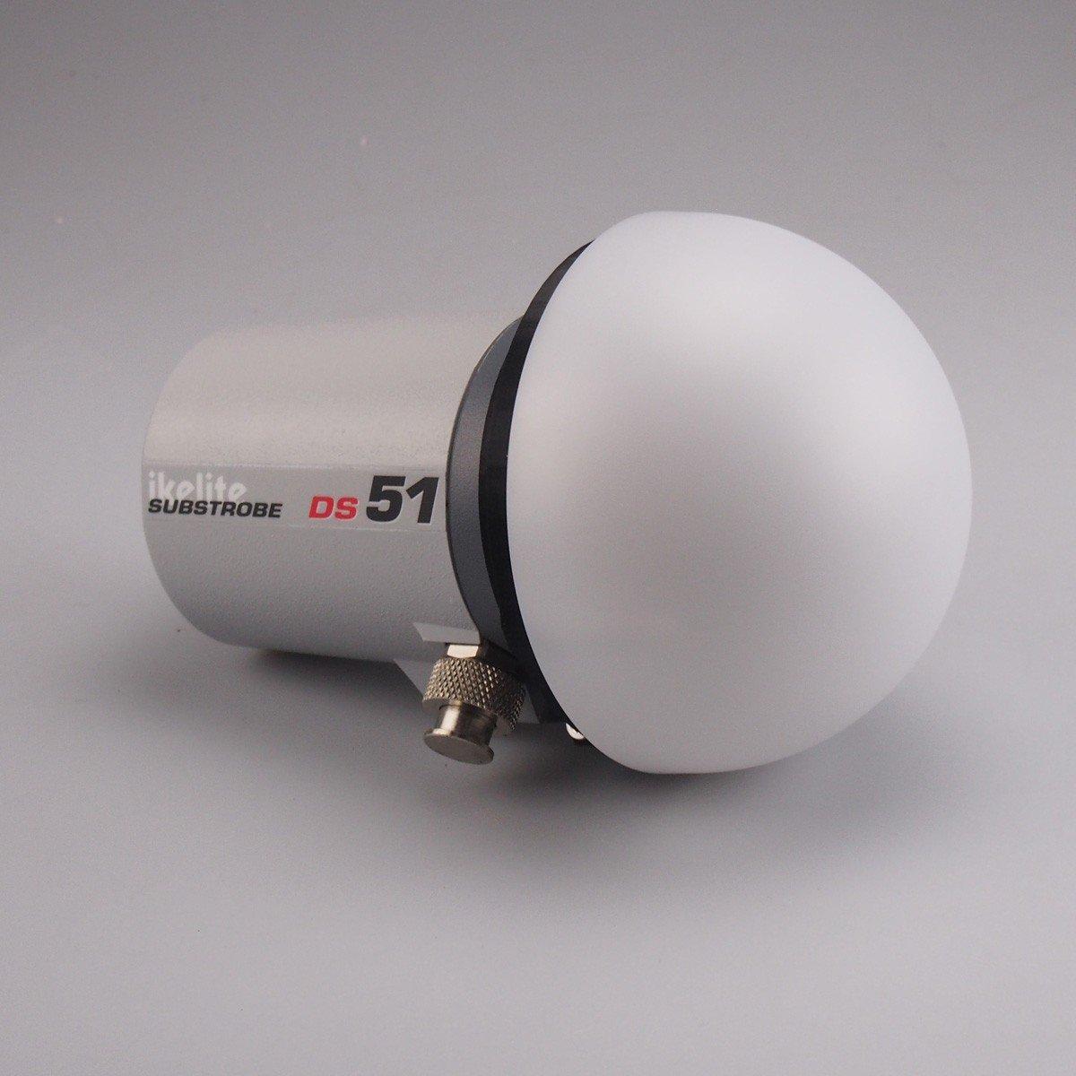 Dome Diffuser Pro for Ikelite DS51 / DS50 / AF35 strobe